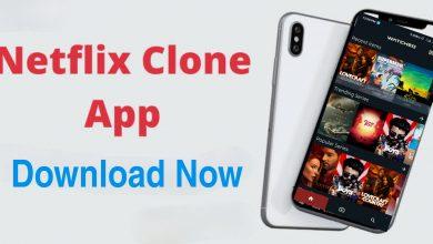 netflix clone app