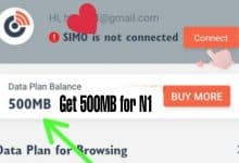 simo free data 500mb