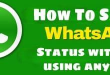 WhatsApp status saver