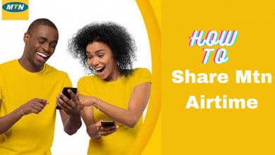 share mtn airtime or credit