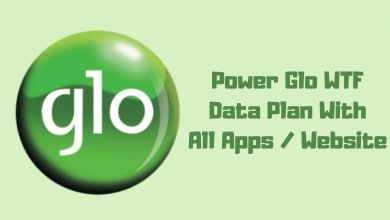 how to power glo wtf data with all apps and websites