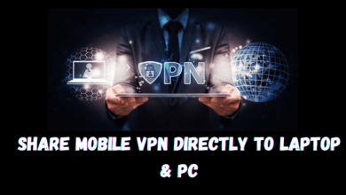 How to share free browsing VPN data connection with laptop or android