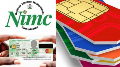 sim card to be block registered without natiobal id card