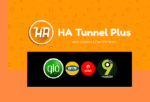 Ha Tunnel Plus VPN Cheat settings for Glo, Mtn, Airtel and 9mobile